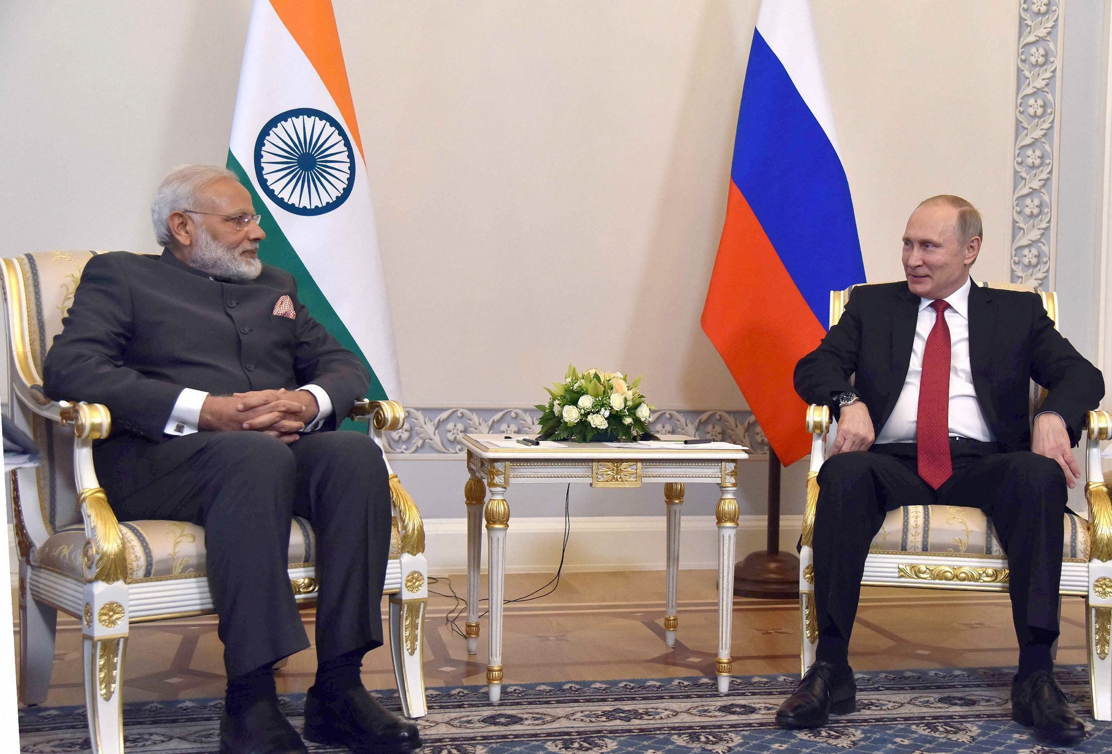 Modi, Putin Push Nuclear Ties But Fusion in Region a Part of Russian Mix