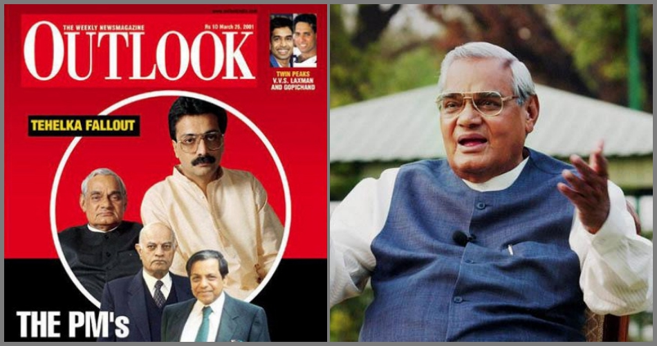 Outlook's Owner was Raided During Vajpayee's Time, but the Media Response was Quite Different