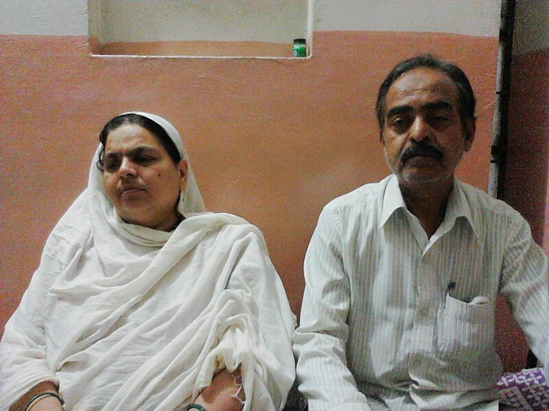 Mohsin Shaikh's parents.