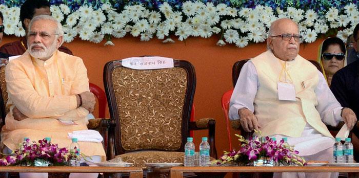 LK Advani Narendra Modi PTI