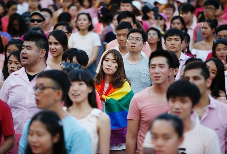 Singapore Gay Pride Rally Draws Thousands Despite Restrictions