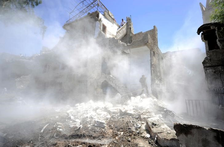 20 Killed, Dozens Wounded as Car Bomb Goes off in Damascus