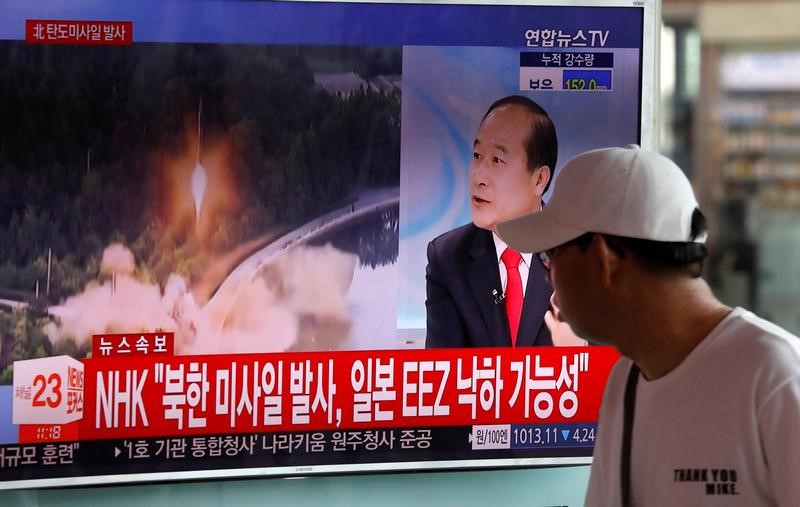 On Eve of G20 Meet, North Korea Tests Intermediate-Range Ballistics Missile