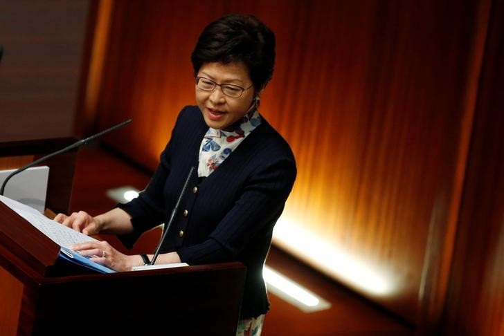 New Hong Kong Leader Stresses Peace, Cooperation in First Week
