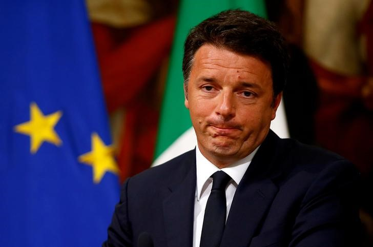 Italy's Former PM Renzi Lays Out New Economic Agenda in Book