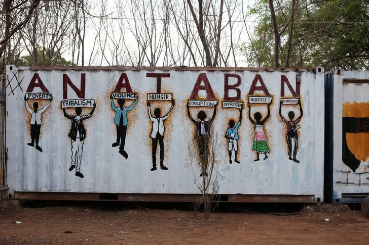 Tired of Conflict, South Sudanese Youth Use Art to Promote Peace