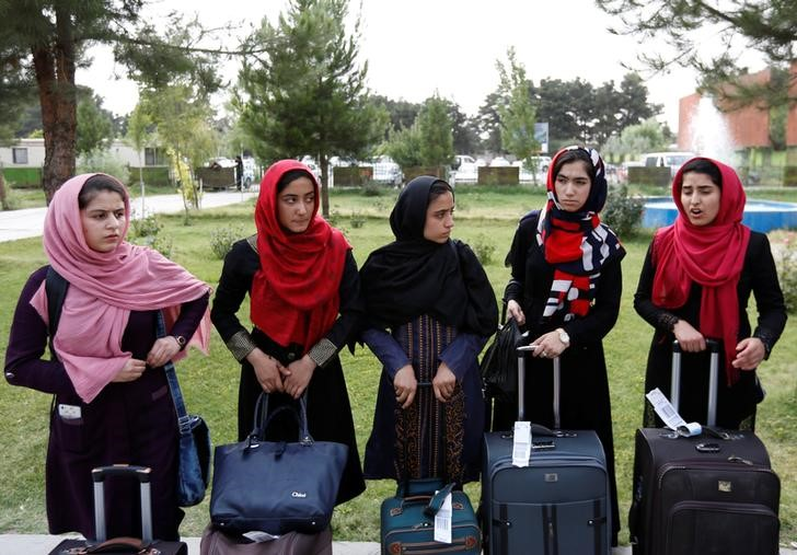 All-Girls Afghan Robotics Team Finally Gets to Compete in the US