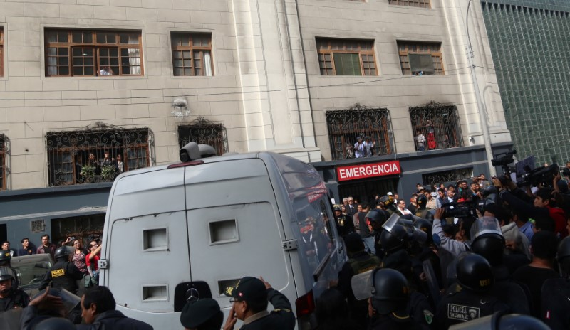 Peru's Feuding Ex-Presidents Fujimori and Humala to Share Prison