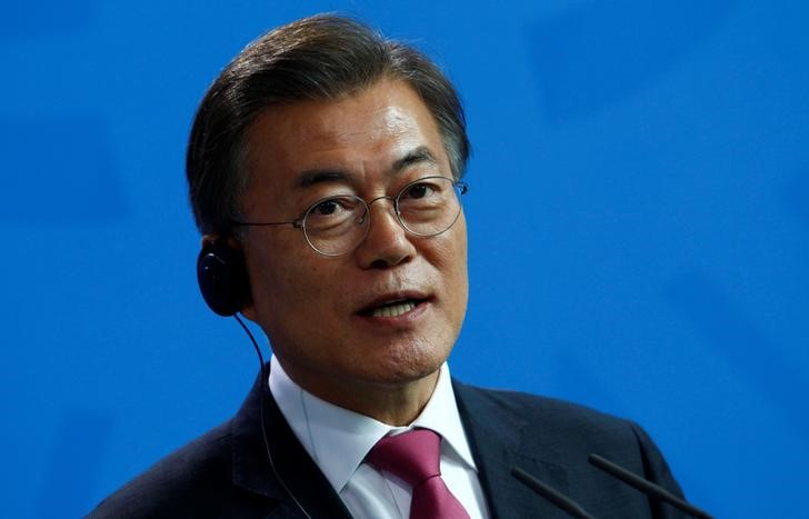 South Korea's Moon Jae-In Proposes Military Talks With North Korea
