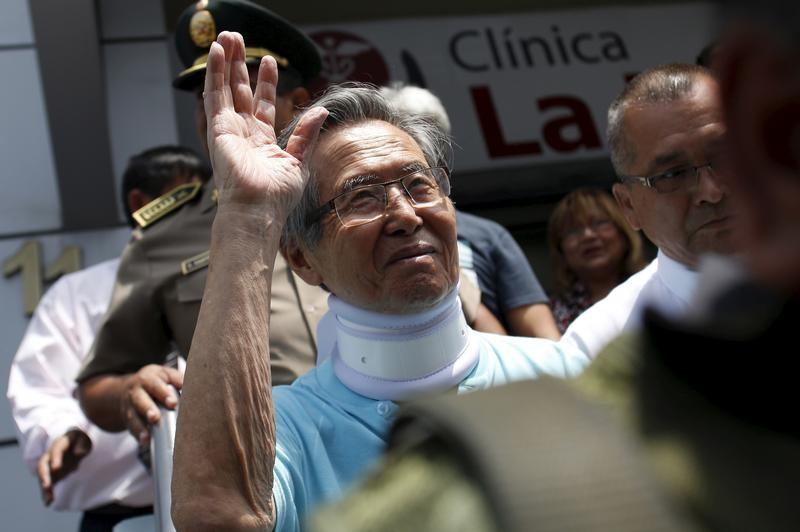 Peru's Jailed Former Leader Fujimori Backs Son to Rally Split Opposition