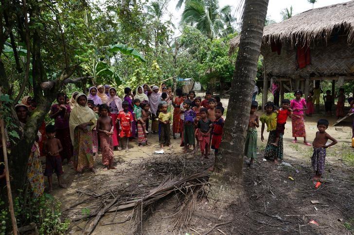 Myanmar Claims Muslim Militants Behind Rohingya Killings