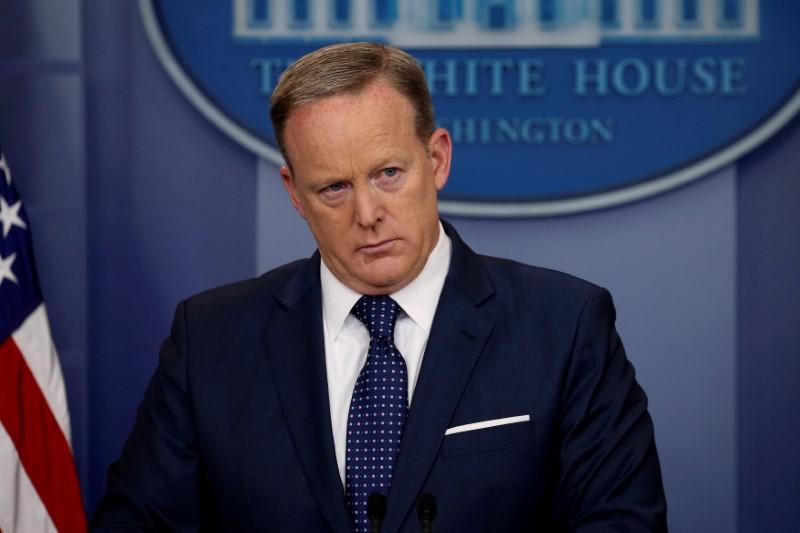 Sean Spicer Steps Down as White House Press Secretary