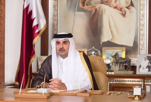 Qatar Ruler Calls for Dialogue to Resolve Gulf Crisis