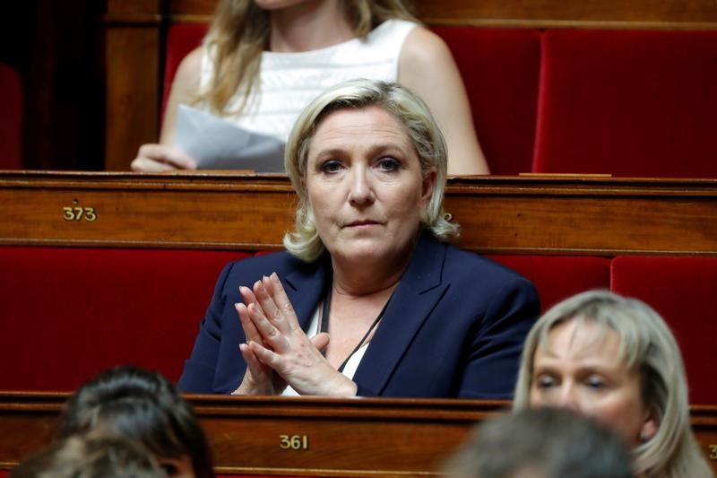 France's Far-Right National Party Reaffirms Anti-EU Stance