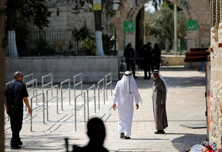 Israel Replaces Jerusalem Metal Detectors With Cameras, Palestinians Reject Measure