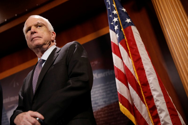 Once Belittled by Trump, McCain Hands Him Big Defeat in US Healthcare Vote