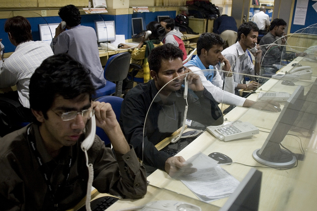 Representational Image of a call centre. Credit; Flickr/ILO