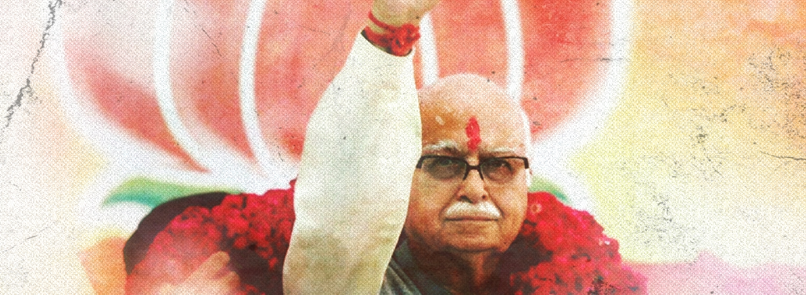 In Advani's Silence, the Sum of All Fears