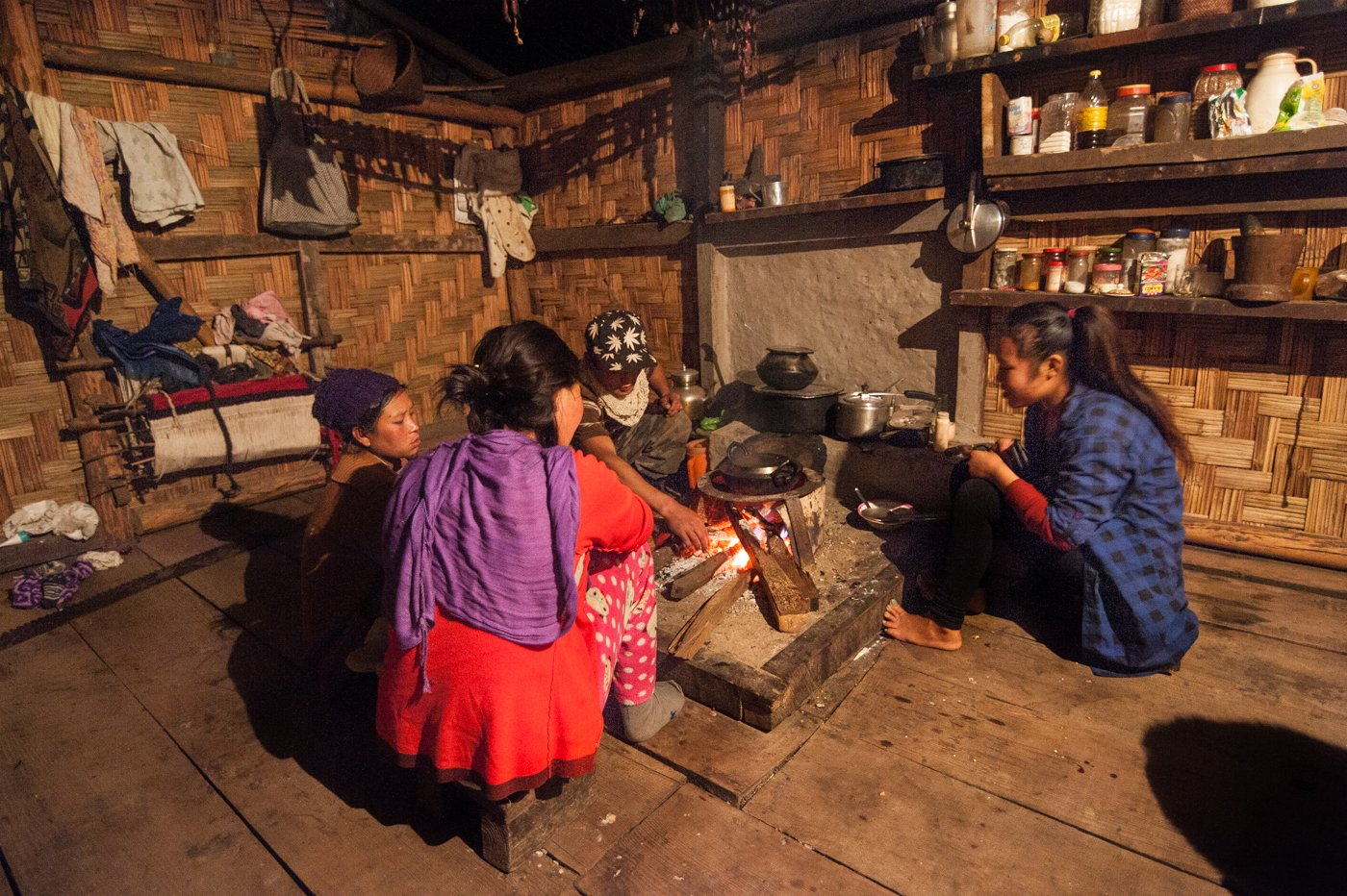 Community bonding is strong among the Brokpa. They often visit different settlements to meet their friends and relatives. Credit: Ritayan Mukherjee
