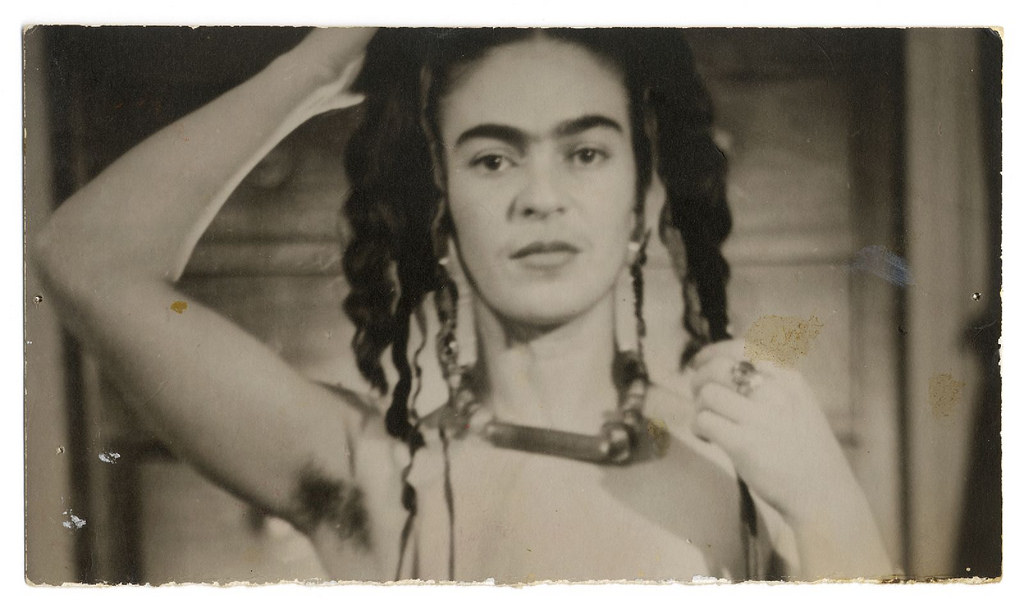 Julien Levy's photograph of Frida Kahlo, New York, 1938. From the Vicente Wolf Photography Collection © 2001 Philadelphia Museum of Art