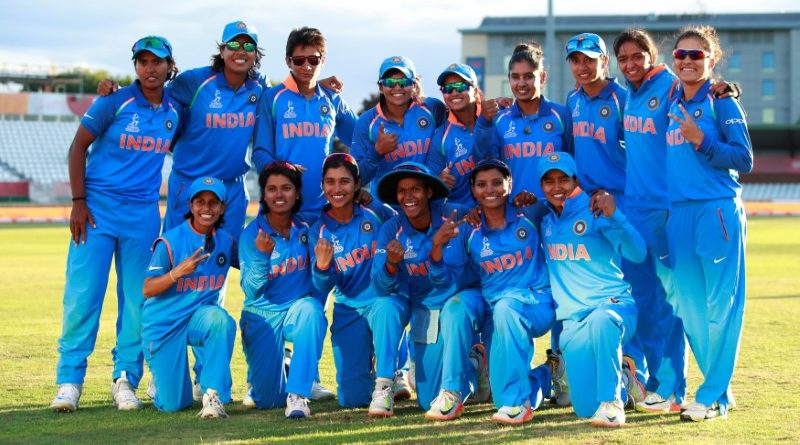 The Indian women's cricket team. Credit: Reuters