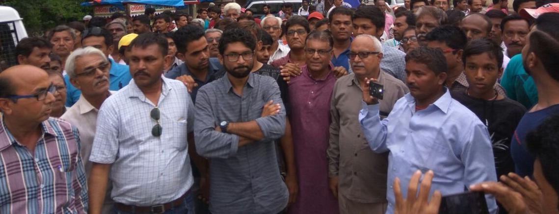 Interview: Jignesh Mevani on the Azadi Kooch, Solidarity and the Future of Dalit Politics