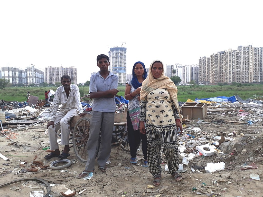 After Dispute over Alleged Theft in Noida Society, Settlement Outside Building Demolished