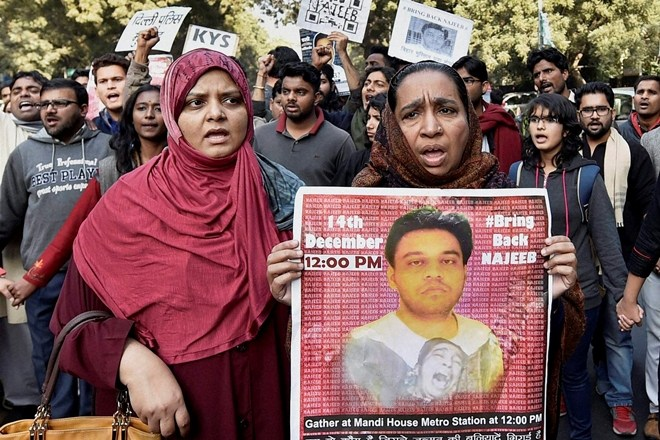 To Malign Missing JNU Student Najeeb, BJP and Fellow Travellers Try, Try Again