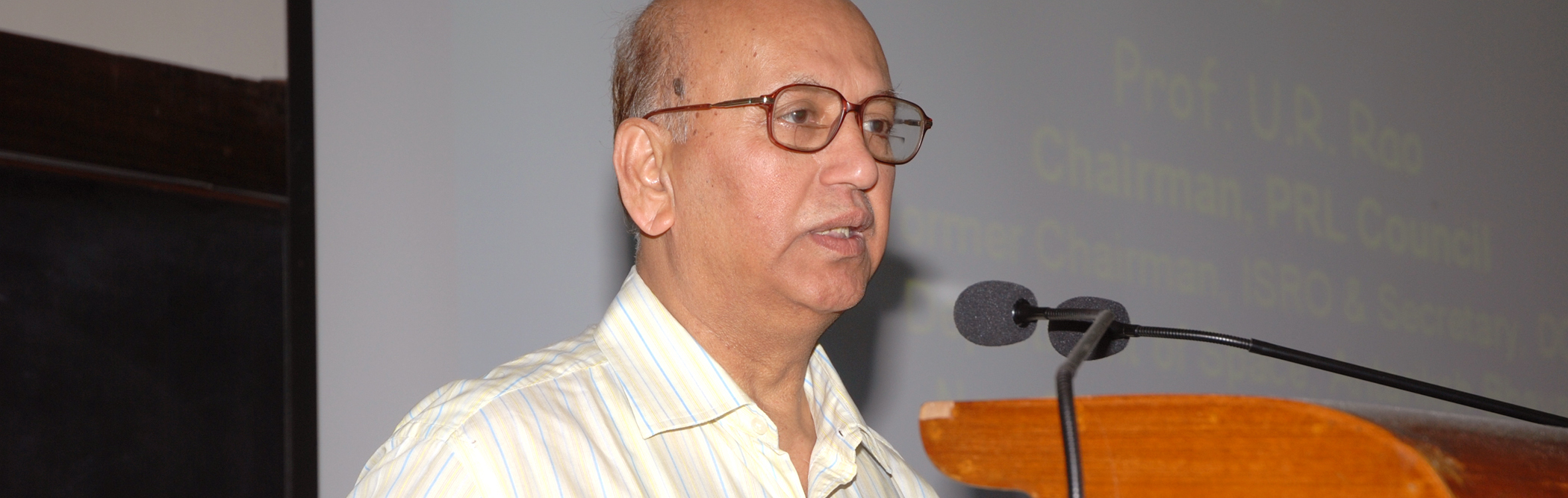 U.R. Rao, ISRO Chairman Who Helped India's Space Programme Settle Down