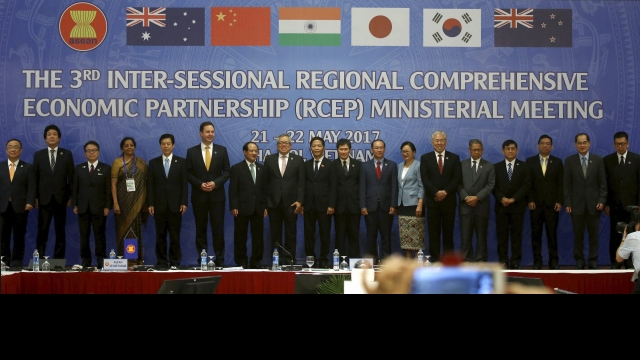 The third RCEP conference in May 2017 at Hanoi, Vietnam. Credit: PTI