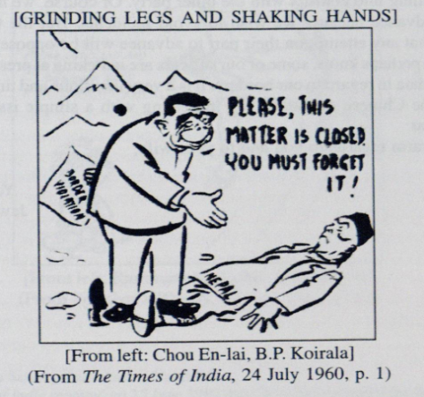 RK Laxman, Nepal, China, cartoon