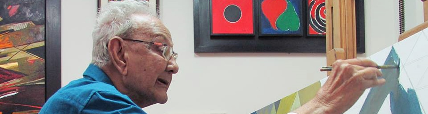 The Layers of Coloured Silence in the Paintings of Sayed Haider Raza