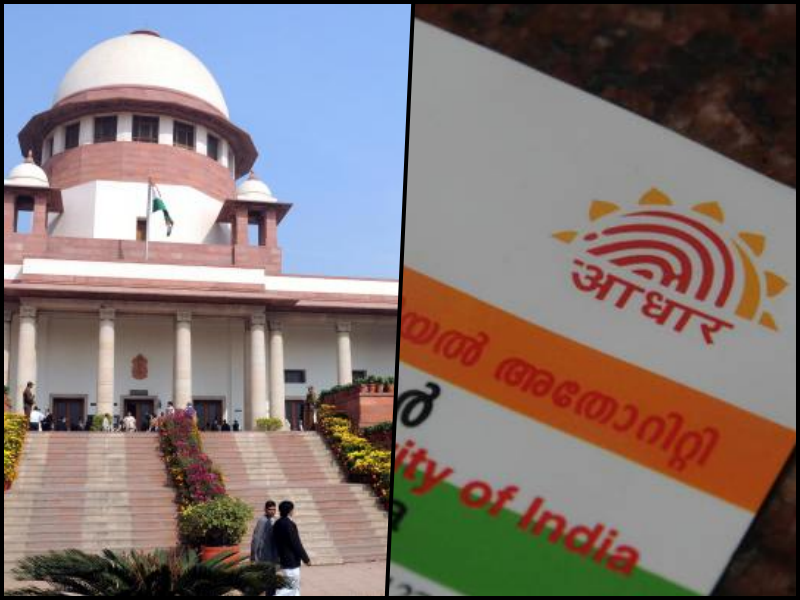 SC Constitution Bench to Decide Validity of Aadhaar Law in November