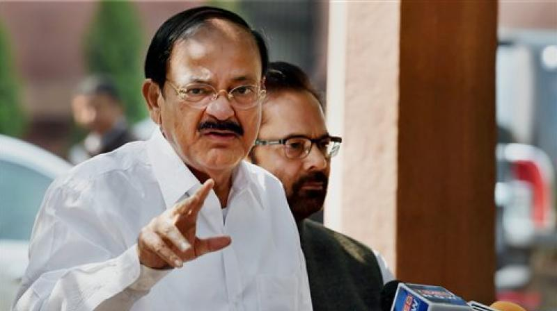 Venkaiah Naidu Rejects Impeachment Motion Against CJI Dipak Misra