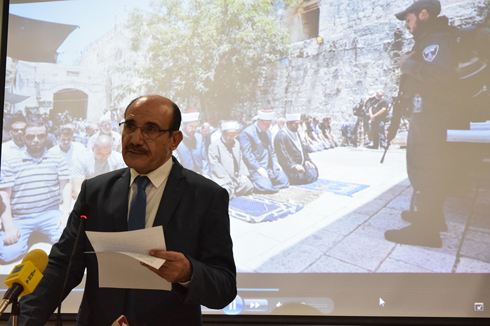 Palestinian Ambassador Urges India to Pressure Israel on Al-Aqsa Security Crackdown