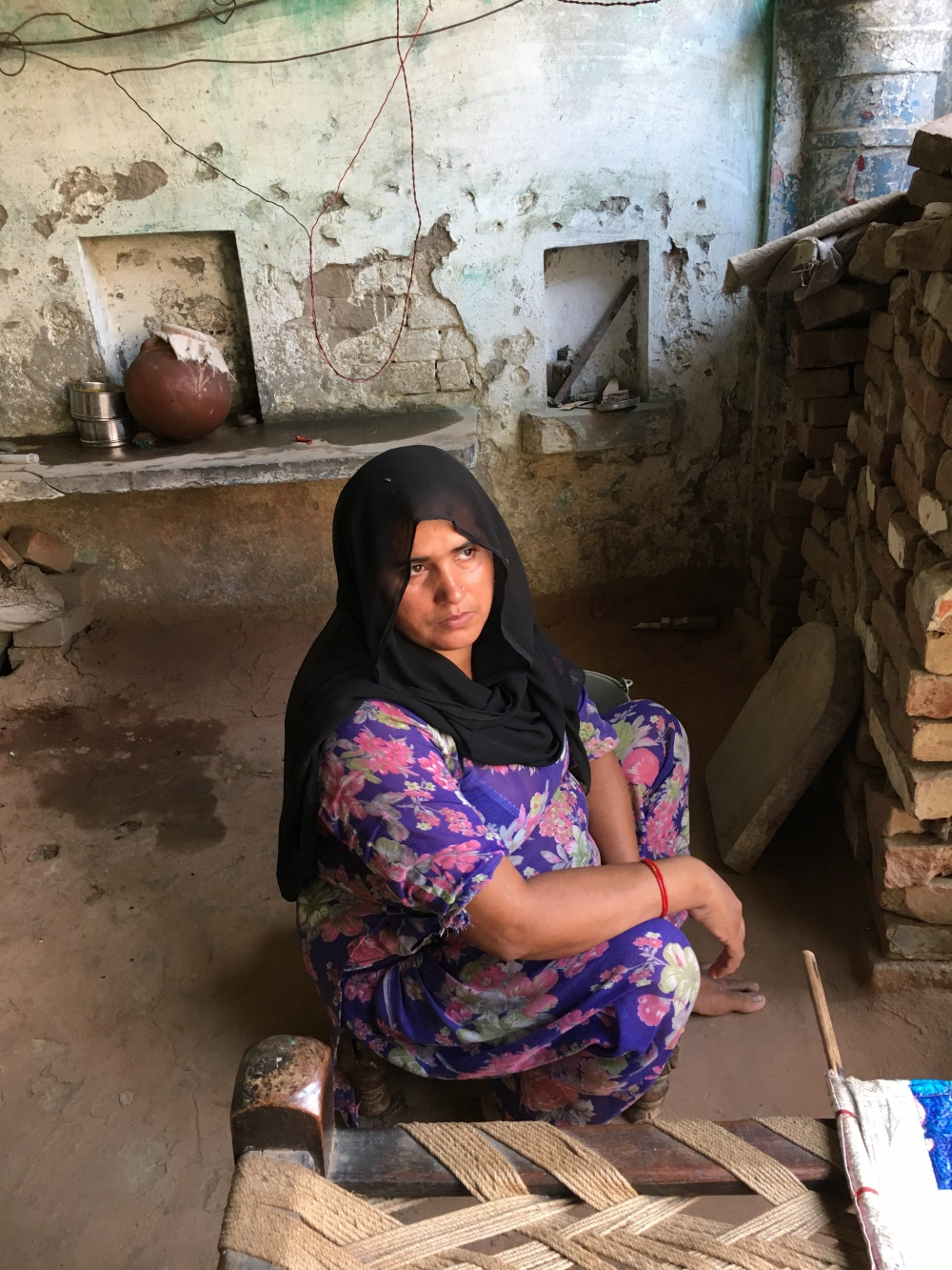 Meenu now faces the daunting task of repaying Rs 6 lakh of debt without any significant sources of income. Credit: Kabir Agarwal