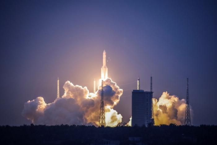 China's New Heavy-Lift Rocket Launch Fails