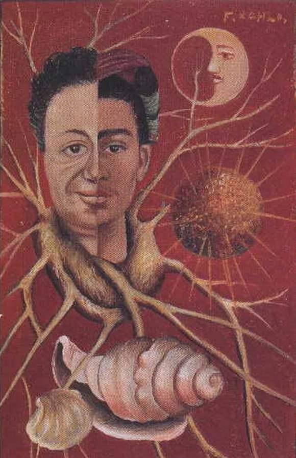 <em>Diego and Frida</em> by Frida Kahlo