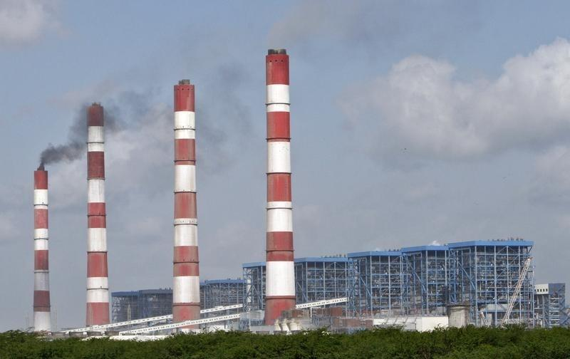 Adani Power Company's plant at Mundra in Gujarat. Credit: Reuters