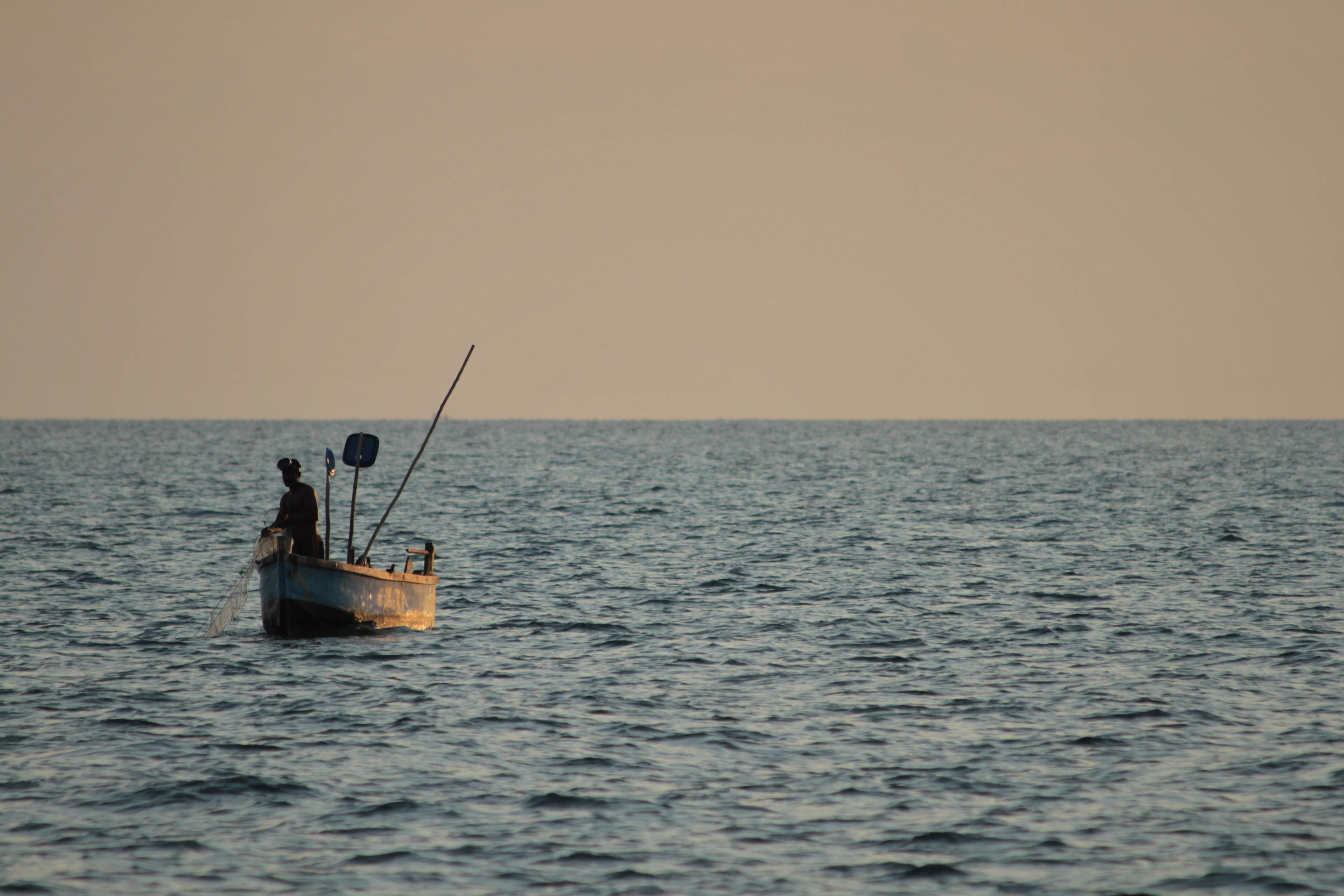 An artisanal fisherman. Credit: Rahul Muralidharan