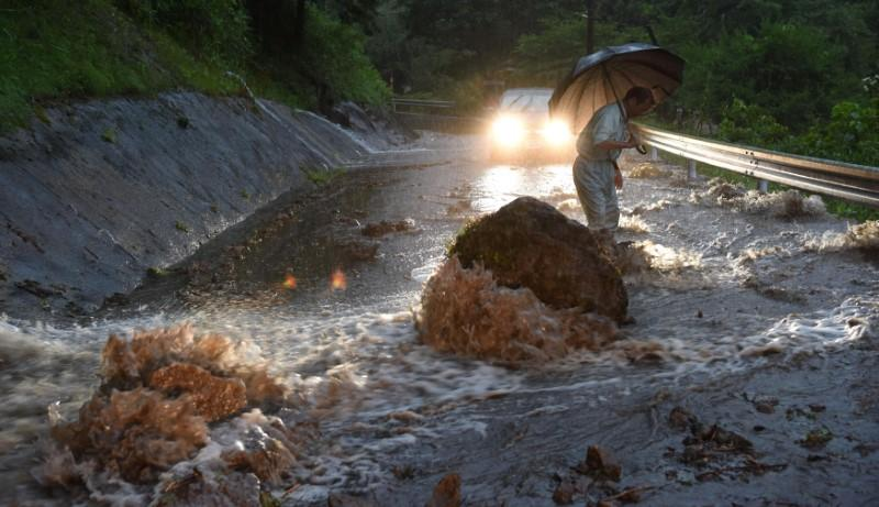 At Least Three Injured, 11 Missing After Heavy Rains in Japan