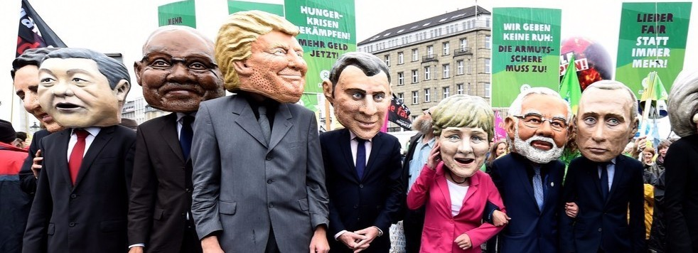 Welcome to Hell: Violent Protests Greet World Leaders at the G20 Summit in Germany