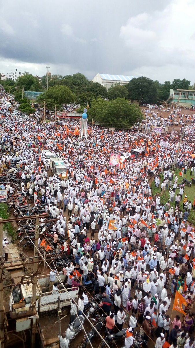 The Lingayat rally in Bidar on July 19. Credit: Twitter/@anandbabusd