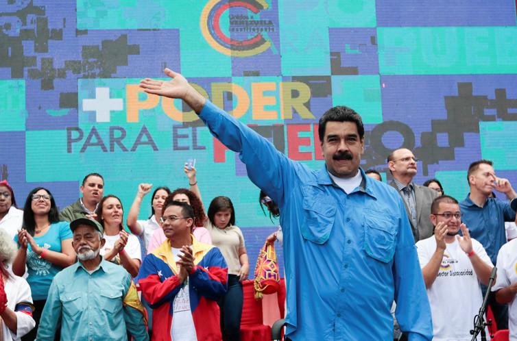 President Maduro of Venezuela. Credit: Reuters
