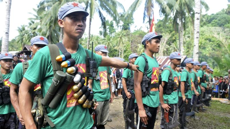 Philippine Presidential Guards Injured in Maoist Rebel Attack