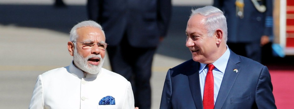 As Modi Arrives in Israel, Promises of Economic and Security Cooperation