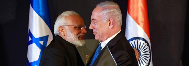 Modi Embraces Israel: Camaraderie in Turbulent Times