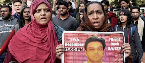 Delhi HC Directs Media to Remove News, Videos Linking JNU Student Najeeb Ahmed to ISIS