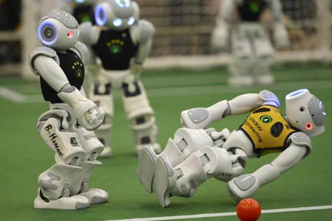 Indians Win Gold at 1st Global Robotics Competition in US