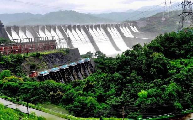 The Sardar Sarovar dam. Credit: PTI
